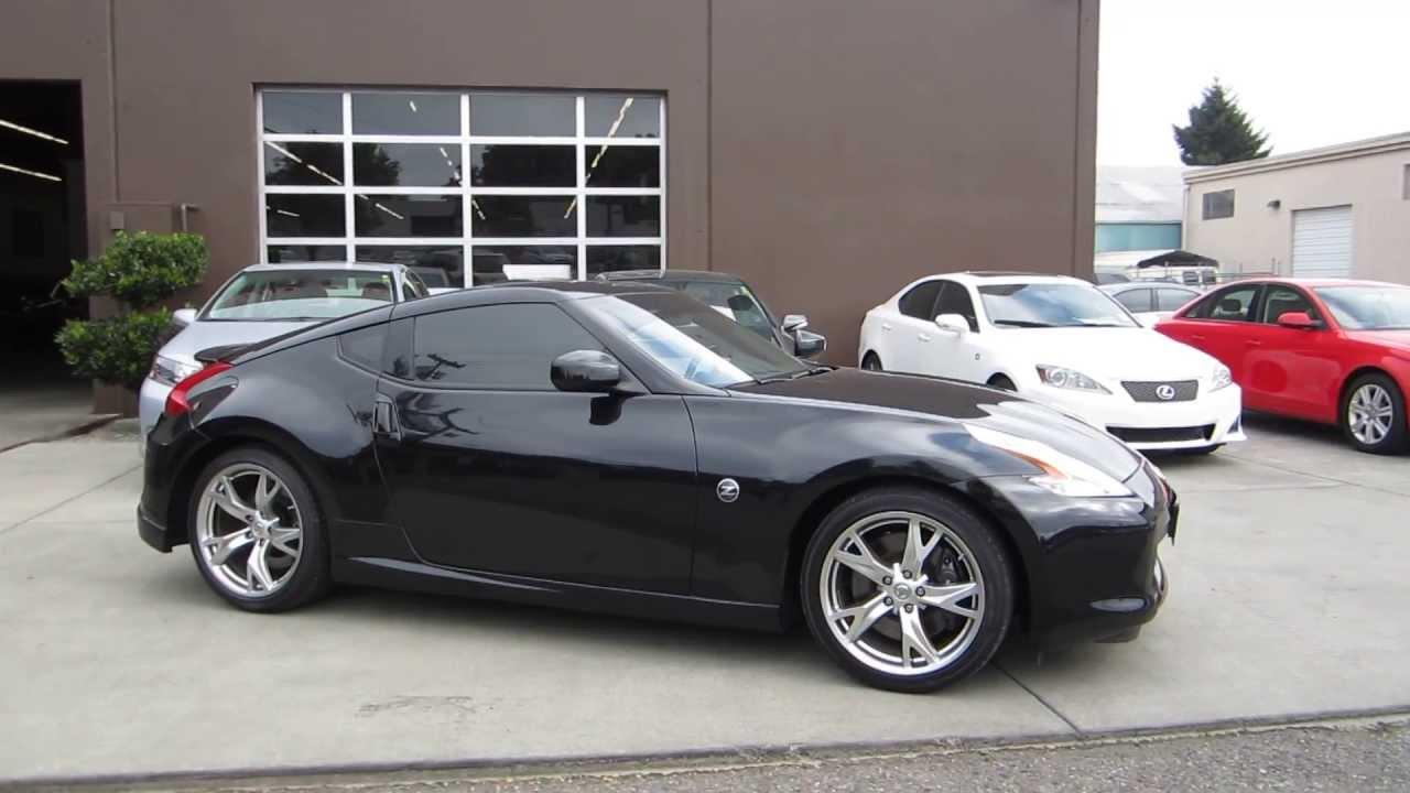 Nissan 370z black on black