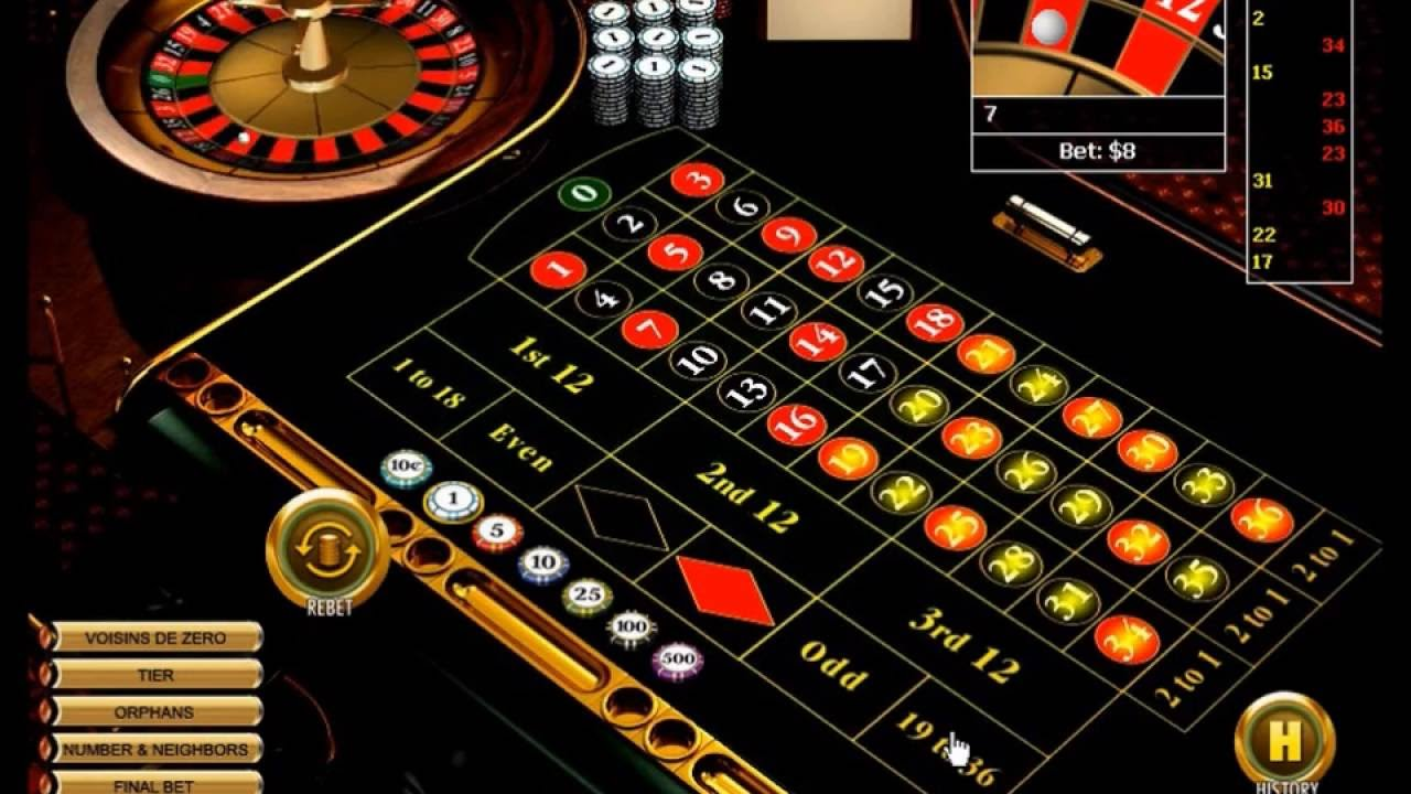 First and third column strategy in roulette ouverture casino barcelonnette