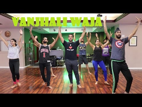 Vanjhali Waja | Choreography Rohit Rumpal | Bhangra Master Class