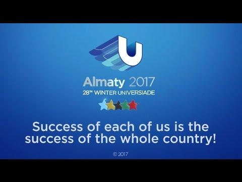 Almaty, Thank You! - 28th Winter Universiade 2017, Almaty, Kazakhstan