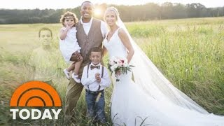 Mom's Wedding Photo Honors Son Who Died | 2 Things 2 Know | TODAY