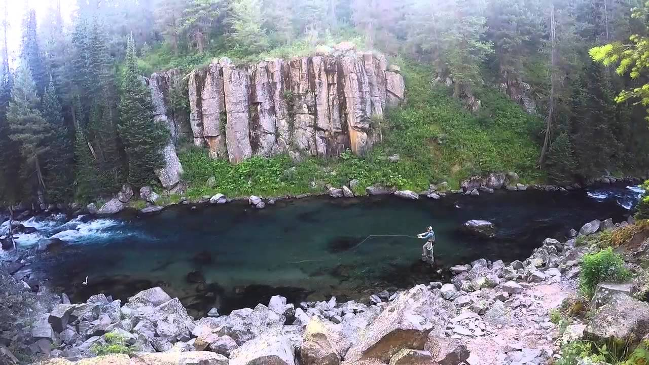 Fly fishing warm river idaho youtube for Idaho out of state fishing license