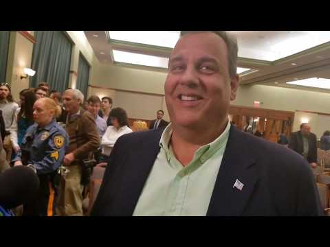 Chris Christie speaks about his interest in the Attorney General position