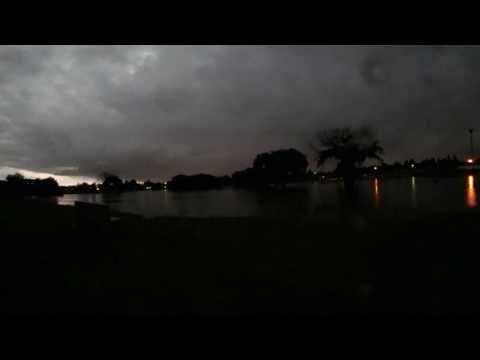 Lightning  in Impala Park after storm last night