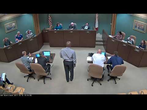 2017 10-16 Board Meeting (VIDEO)