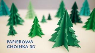 Papierowa Choinka 3D