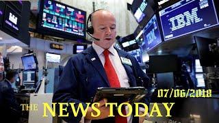 World Stock Markets Edge Higher As U.S.-China Trade Tariffs Take Effect | News Today | 07/06/20...