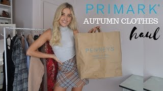 PRIMARK AUTUMN CLOTHES HAUL | Louise Cooney