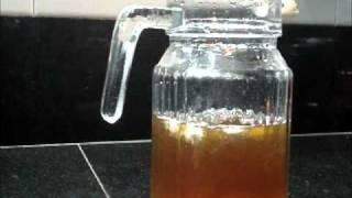 How To Make Ice Tea (lemon Flavour)