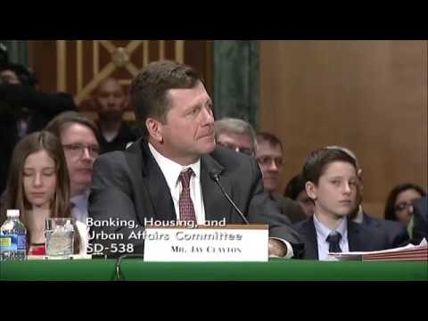 Sen. Kennedy-Banking Committee With Mr Jay Clayton