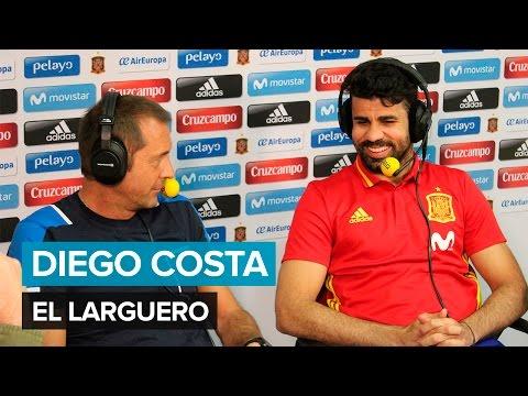 """Diego Costa: """"Cuando el Atlético me tuvo que esperar no me esperó"""". Cadena SER"""