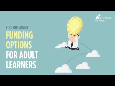 Funding options for Adult learners