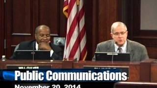 Huntsville City Council 11.20.14
