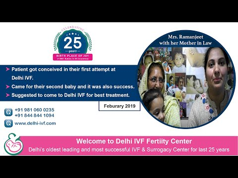 patient-achived-success-at-first-attempt-|-come-for-second-baby-|-very-thankful-to-delhi-ivf-&-team