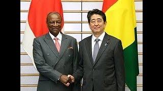 日・ギニア首脳会談等―平成29年6月20日