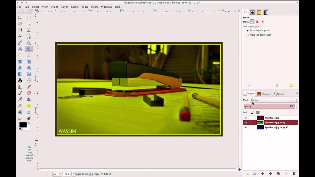 A quick tip for creating chromatic aberration using Gimp - BlenderNation