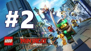 LEGO NINJAGO Movie Video Game Story Mode Gameplay Walkthrough Part 2 FULL GAME PS4 - No Commentary