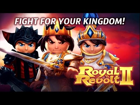 Royal Revolt 2 (Android) Gameplay
