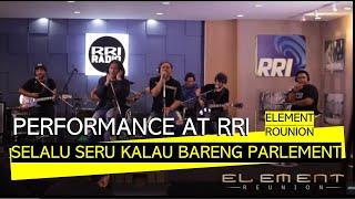 ELEMENT REUNION - Live at RRI Resimi
