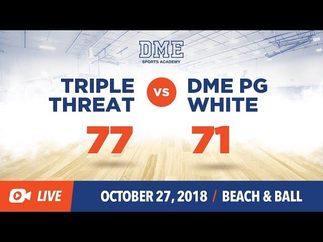 DME White vs Triple Threat