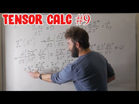 Tensor Calculus For Physics Ep. 9 | Derivatives Of Tensors, And The Affine Connection