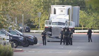 Multiple people found dead inside truck at Walmart parking lot