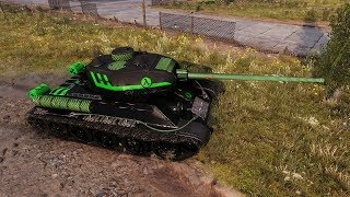WoT T-34-85 (skin) How many shots to kill SPG ??? 4508 DMG - Pilsen