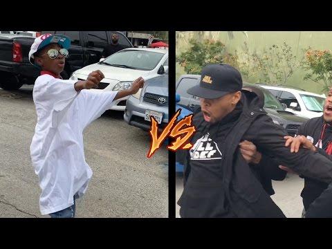 Soulja Boy Footage Beating up Chris Brown