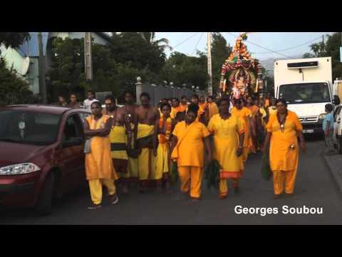 Cérémonie tamoul Etang du Gol Saint Louis Réunion