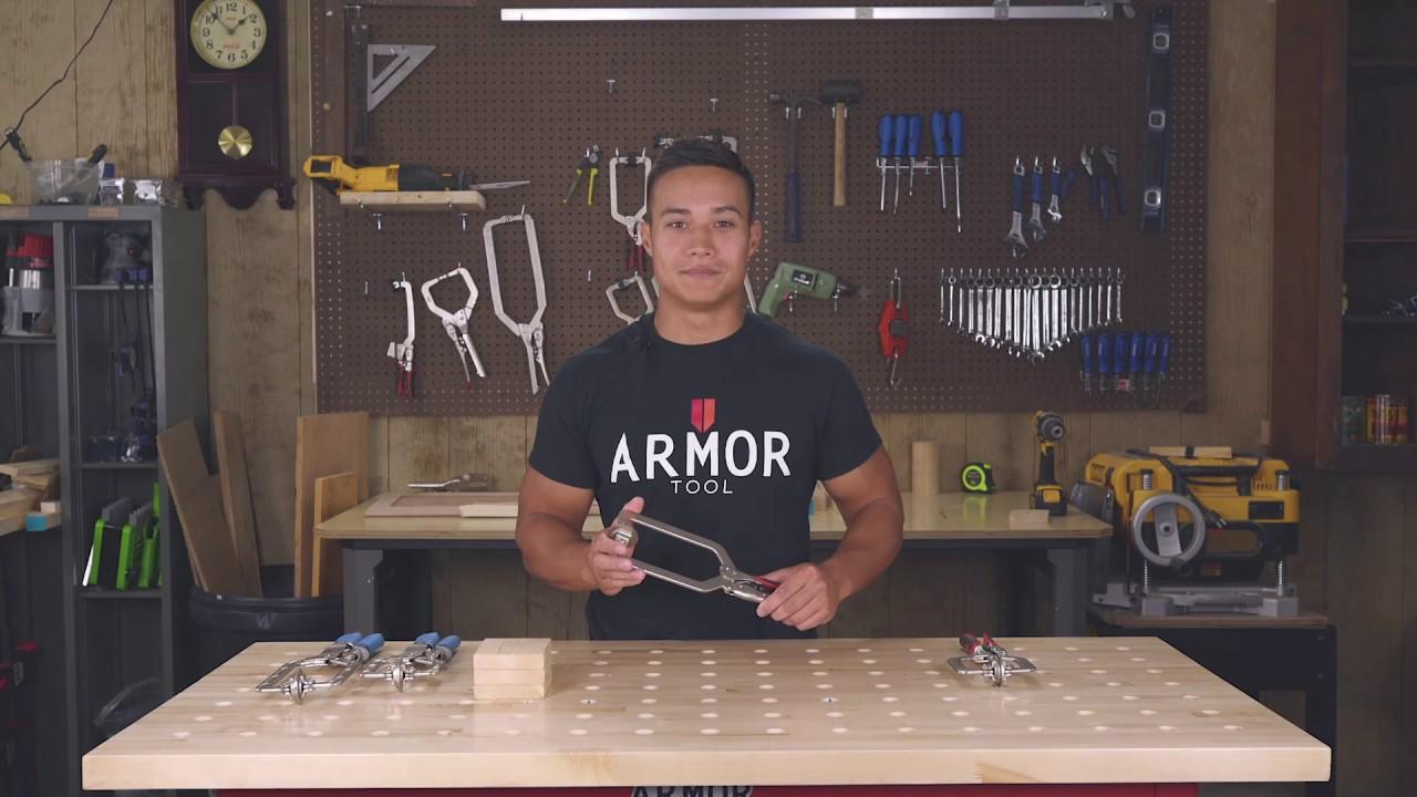 "Armor Tool:  Armor Cam Lock VS. The ""Other Guys"" Wedge Lock"