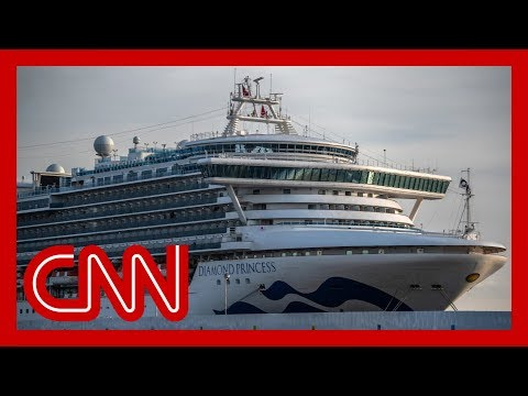 Coronavirus infection rate on cruise ship doubles in one day to 135