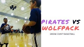 🏀 Pirates vs Wolfpack | Game 2 Highlights | Greene County Basketball