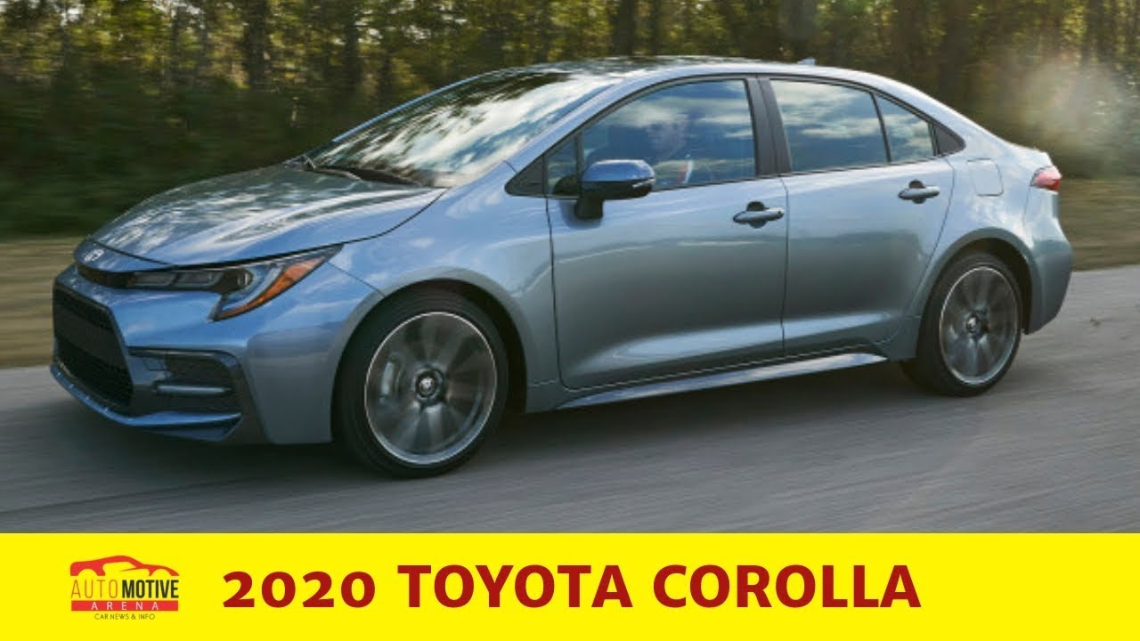 Best Selling Car Of All Time >> First Look 2020 Toyota Corolla Sedan Best Selling Car Of All Time