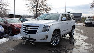 2018 Cadillac Escalade Premium Luxury: In Depth First Person Look
