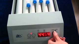 A & E Lab :Tube Roller Mixer Performance demonstration Video