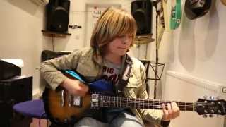 Straight For The Heart Whitesnake Cover by 11 Year Old Alex Ayres