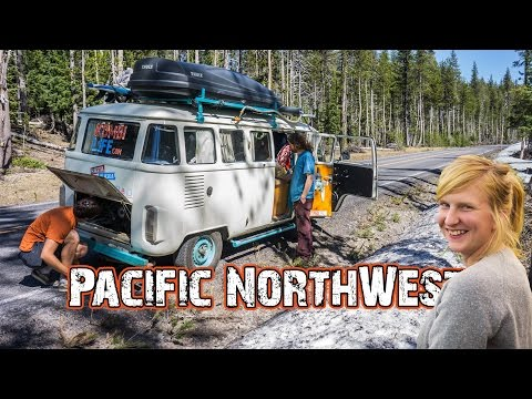Living in a Van Full Time in the Pacific North West // Hasta Alaska // S04E10 - 동영상