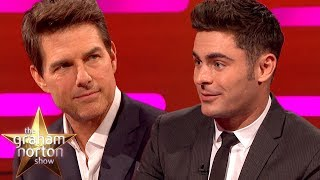 Zac Efron Recreates Top Gun | The Graham Norton Show