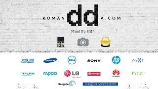 Прямая трансляция Komandda MeetUp 2014 - Keddr.com