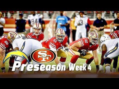 49ers VS Chargers Postgame NFL 2017 Preseason Week 4 Gathering