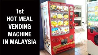 Hot Food Vending Machine | Nasi Kari Ayam Kapitan & Siu Mai Dim Sum