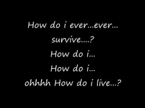 Mix - how do i live lyrics by Leann Rimes