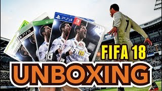 FIFA 18 (PS4/Xbox One/PS3/Xbox 360/Nintendo Switch) Unboxing!!