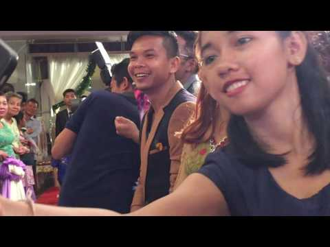 Wedding Party In Asia, Cambodian Wedding Party In The City