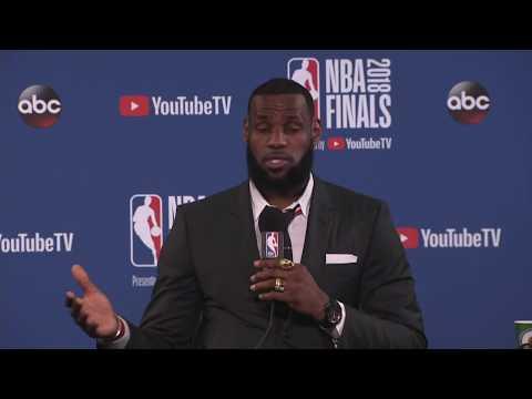 LeBron James Postgame Interview |  Cavaliers vs Warriors NBA Finals Game 1