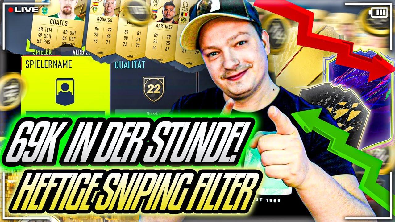 Download HEFTIG 69K IN DER STUNDE! 🤑🔥 ALLERBESTE SNIPING FILTER 🙏 Fifa 22 Trading Tipps (deutsch)