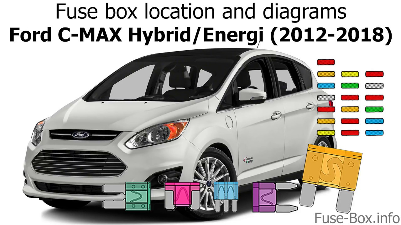 fuse box location and diagrams: ford c-max hybrid/energi (2012-2018)