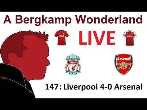 The #ABWRadioShow : 147 - Liverpool 4-0 Arsenal