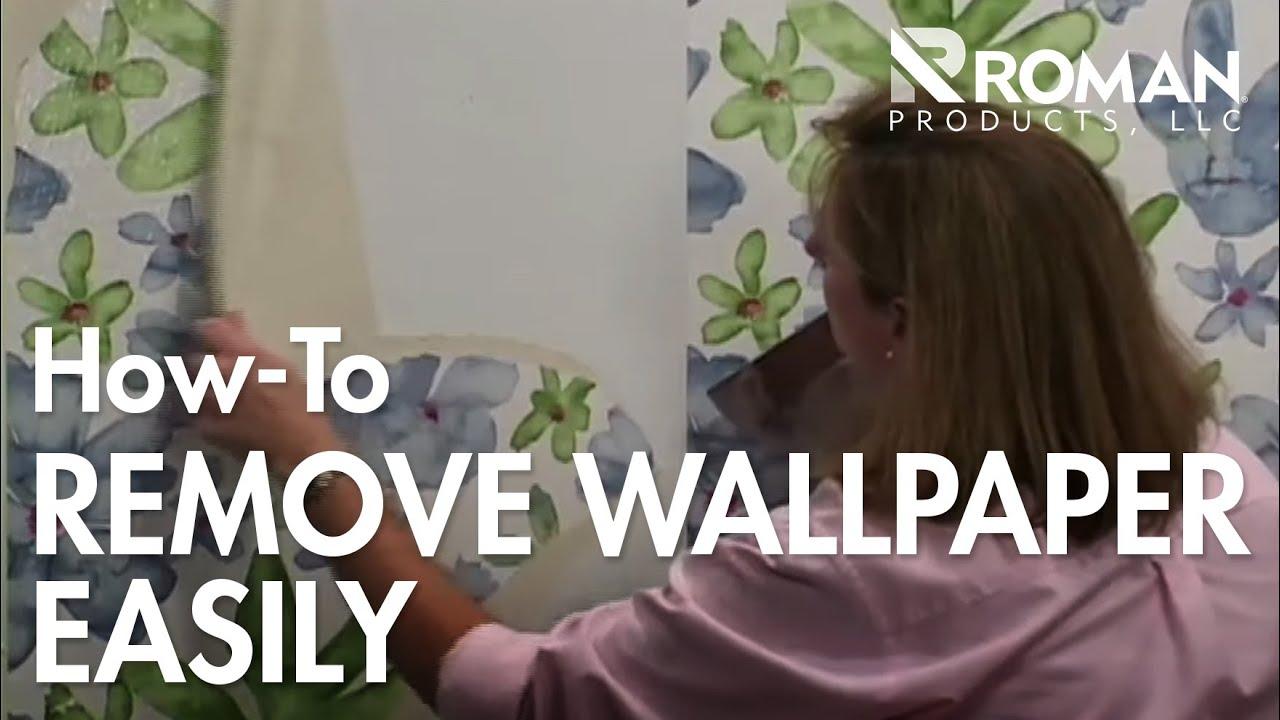 Remove Wallpaper Easily