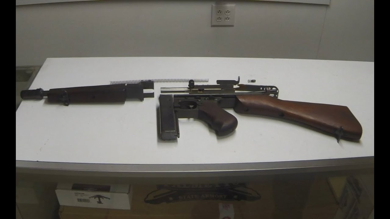 Parts Kit Review 1 1928 Thompson SMG